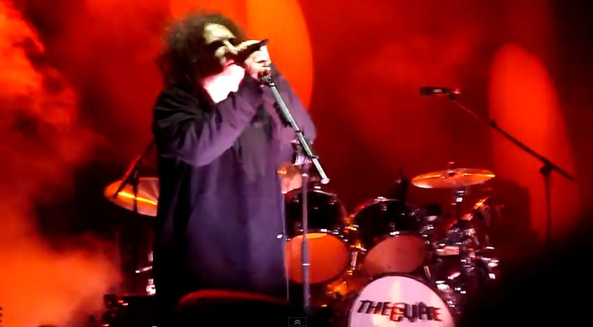 Video: The Cure plays 'The Top' for first time in 28 years at Sweden's Hultsfred Festival