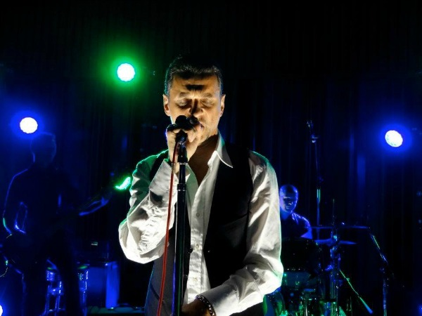 Video: Depeche Mode's Dave Gahan performs with Soulsavers at Los Angeles studio