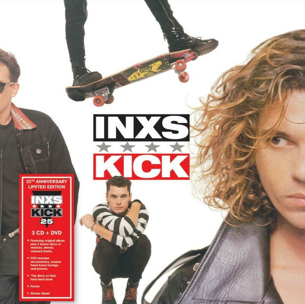 INXS' 'Kick' to receive expanded 3CD/1DVD 25th anniversary reissue with 'unheard tracks'