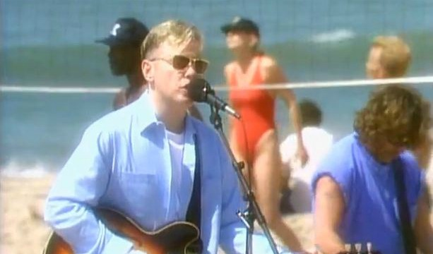 Vintage Video: New Order enlists David Hasselhoff for 'Baywatch'-themed 'Regret' clip