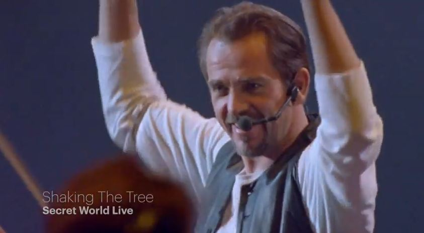 Video: Peter Gabriel, 'Shaking the Tree' — from newly restored 'Secret World Live'