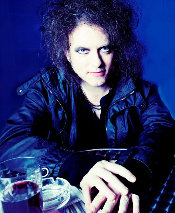 The Cure's Robert Smith circa 2012