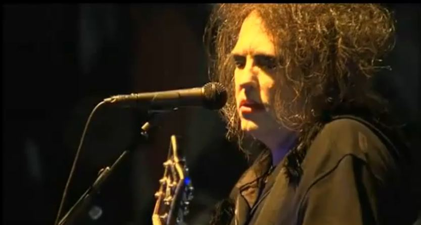 Video: The Cure's Robert Smith plays rare solo set at Bilbao BBK Live — plus full webcast