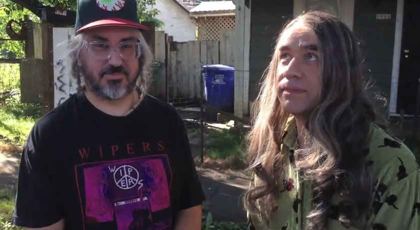 Video: Dinosaur Jr's J Mascis talks to Candace from feminist bookstore on 'Portlandia'