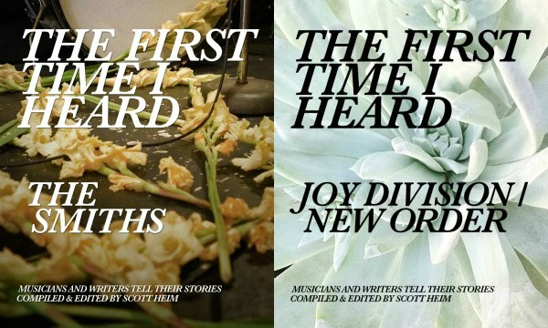 'First Time I Heard' e-books spotlight The Smiths, Joy Division, New Order, Kate Bush