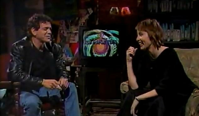 '120 Minutes' Rewind: Lou Reed hosts early episode, interviews Suzanne Vega — 1986