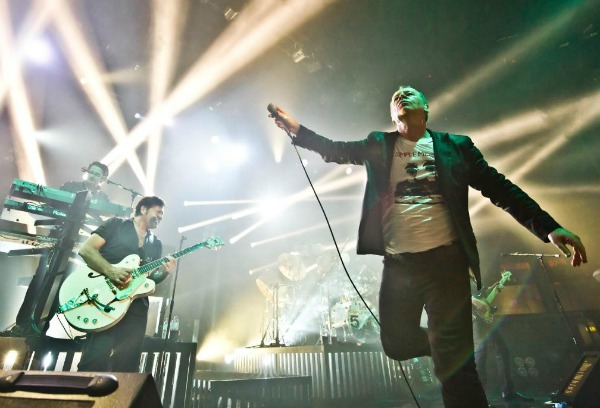 Simple Minds prepping 2CD live album culled from this year's '5×5 Live' tour