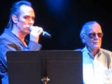Watch: Peter Murphy duets with comic book legend Stan Lee on 'That Old Black Magic'