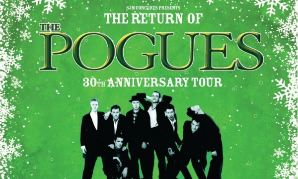 The Pogues announce one-off Christmas show at London's O2 Arena