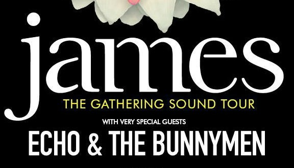 James enlists Echo & The Bunnymen for U.K. tour in support of 'Gathering Sound' box set