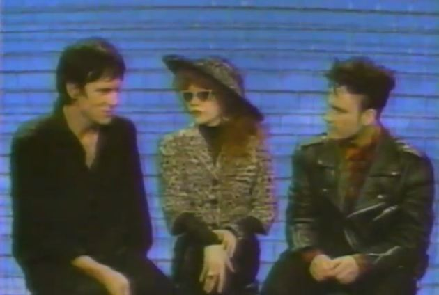 '120 Minutes' Rewind: The Cramps' Lux Interior, Poison Ivy talk to Dave Kendall — 1990