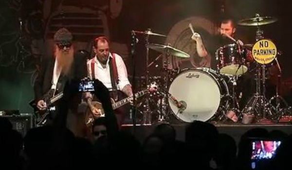 Video: Social Distortion joined by ZZ Top's Billy Gibbons on 'Drug Train' in Los Angeles