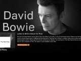 Stream: David Bowie, 'The Next Day' — listen to full new album for free on iTunes