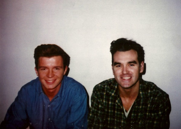 Rick Astley and Morrissey