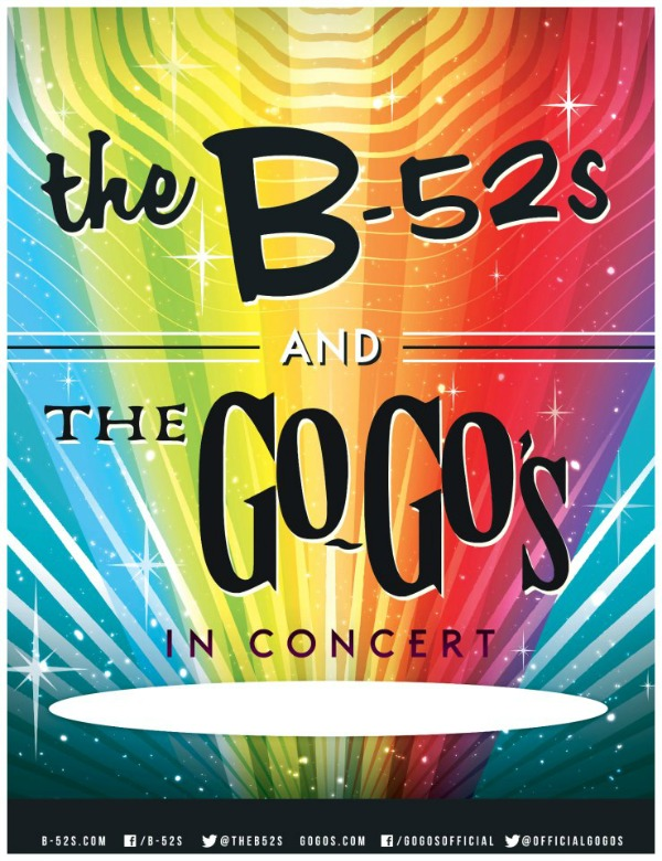 The B-52s and The Go-Go's