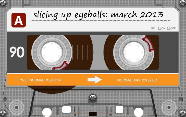Auto Reverse — Slicing Up Eyeballs Mixtape (March 2013)