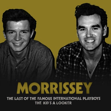 Morrissey, 'The Last of the Famous International Playboys' digital single