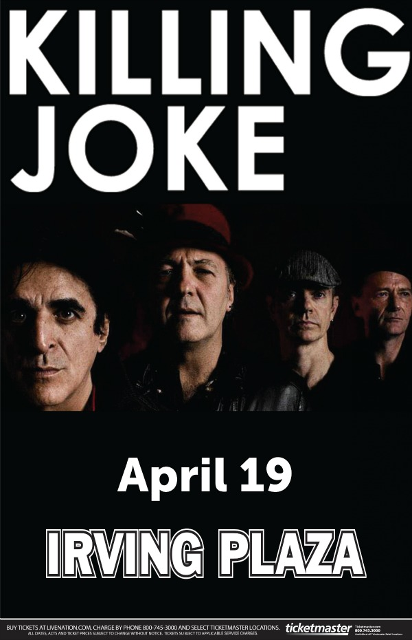 Killing Joke at Irving Plaza