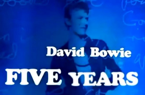 David Bowie 'Five Years'