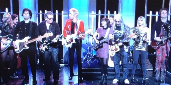 Video: Kim Gordon, Steve Jones, J Mascis, Aimee Mann send off SNL&#8217;s Fred Armisen