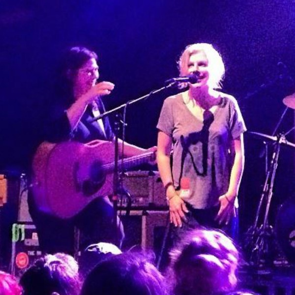 Kim Deal and Tanya Donelly