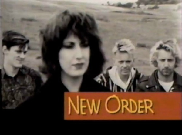 New Order on 120 Minutes X Ray