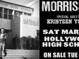 Morrissey's concert at Hollywood High School to be screened in IMAX 3D in the U.S.?