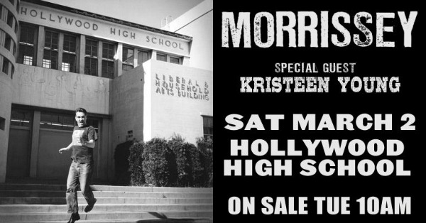 Morrissey at Hollywood High