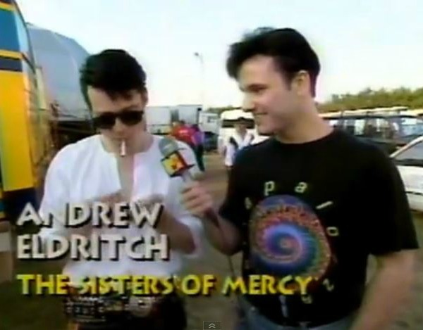 The Sisters of Mercy and Dave Kendall