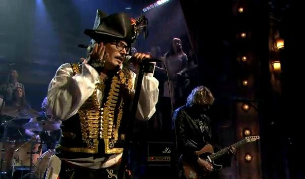 Adam Ant on Jimmy Fallon
