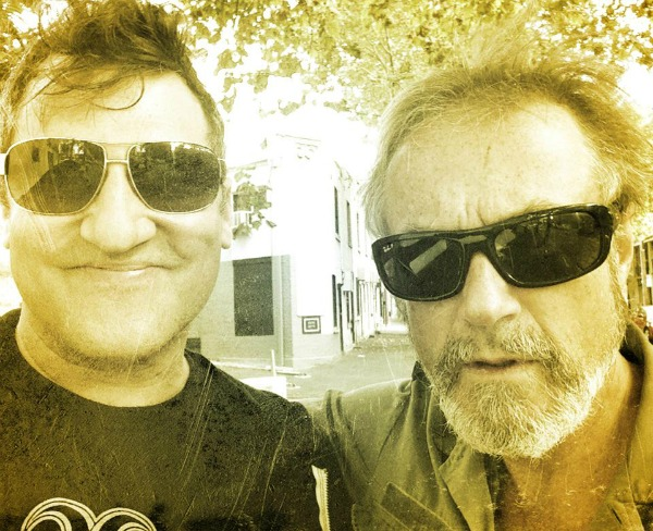 Greg Dulli and Steve Kilbey