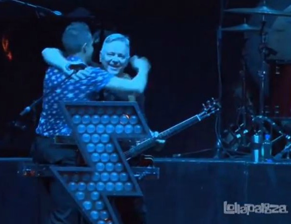 Killers with Bernard Sumner