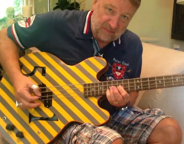 Peter Hook bass