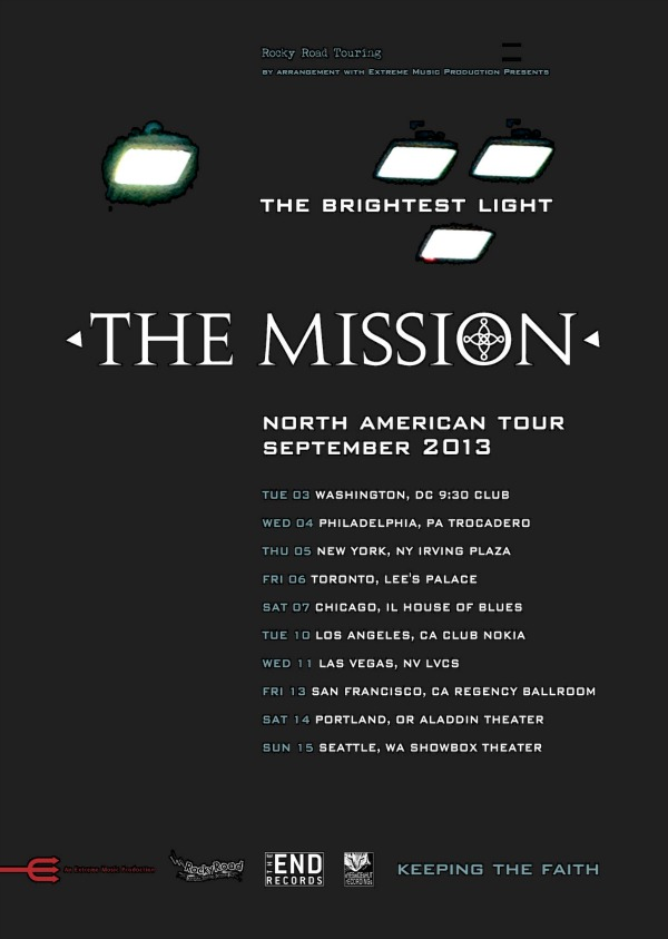 Contest: Win tickets to see The Mission at New York's Irving Plaza ...