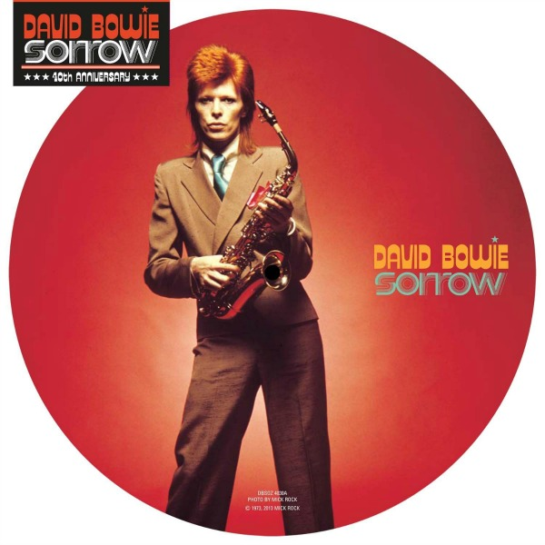 David Bowie Sorrow picture disc
