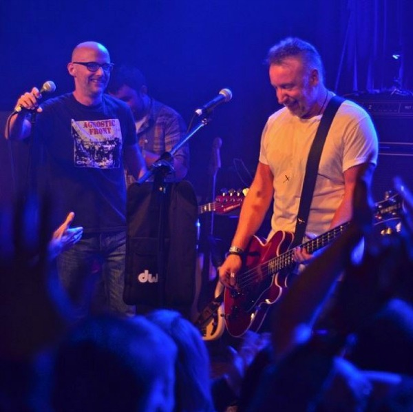 Moby and Peter Hook