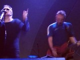 Video: Peter Hook and The Mission's Wayne Hussey perform New Order's 'Temptation'