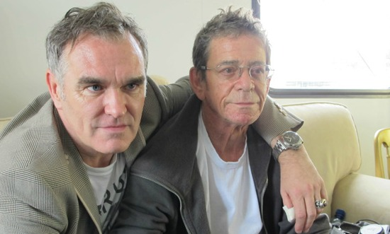 Morrissey and Lou Reed
