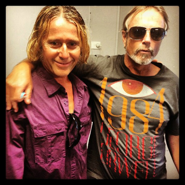 Richard Ploog and Steve Kilbey