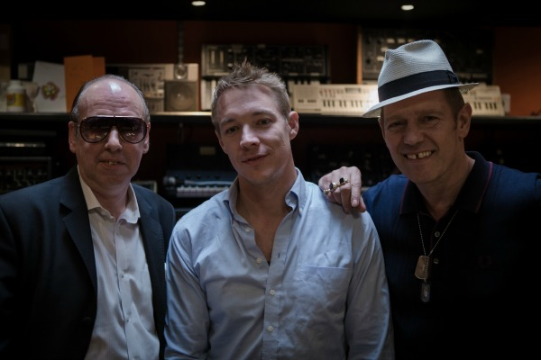 Mick Jones, Diplo and Paul Simonon