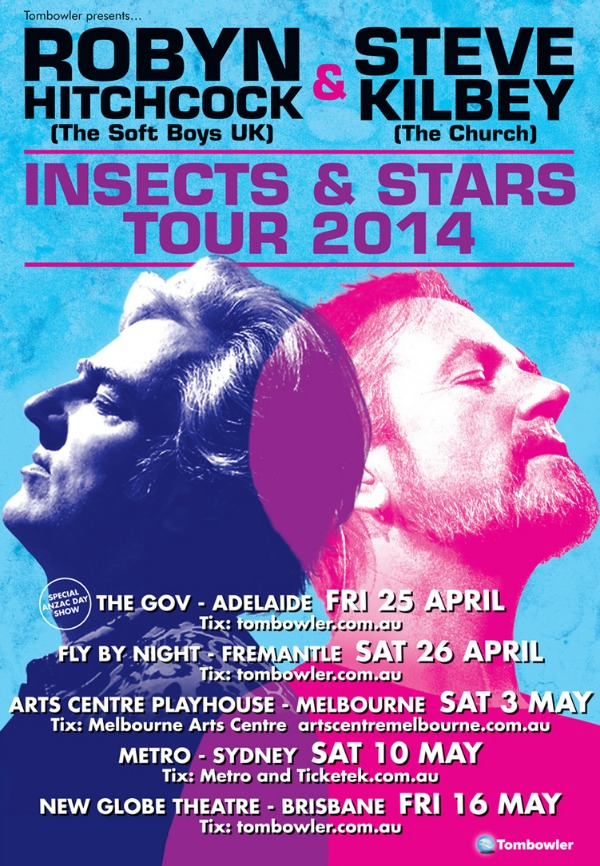 Robyn Hitchcock and Steve Kilbey