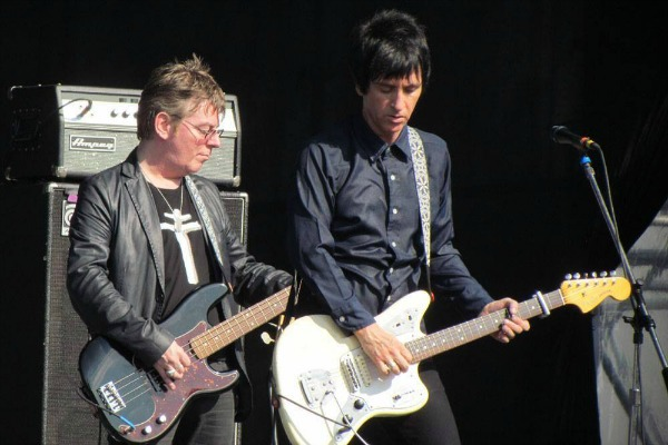 Johnny Marr and Andy Rourke
