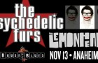 Win tickets to see The Psychedelic Furs and The Lemonheads in Anaheim, Calif.