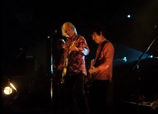 Robyn Hitchcock and Johnny Marr