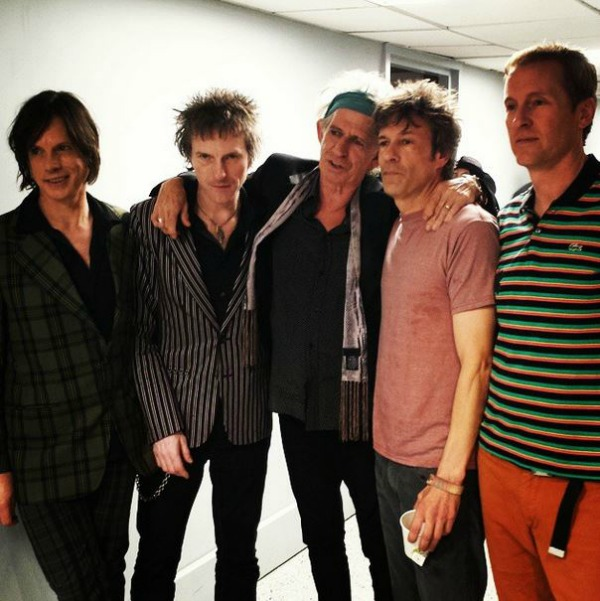 The Replacements and Keith Richards
