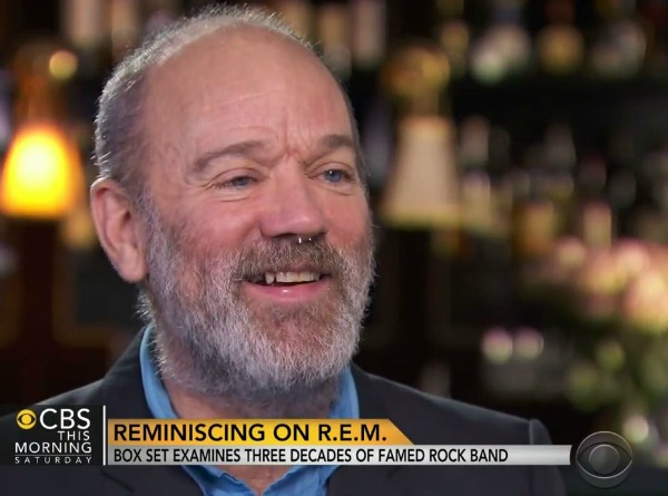 Michael Stipe on CBS This Morning