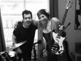 The Cure's Lol Tolhurst and Pearl Thompson reunite in the recording studio
