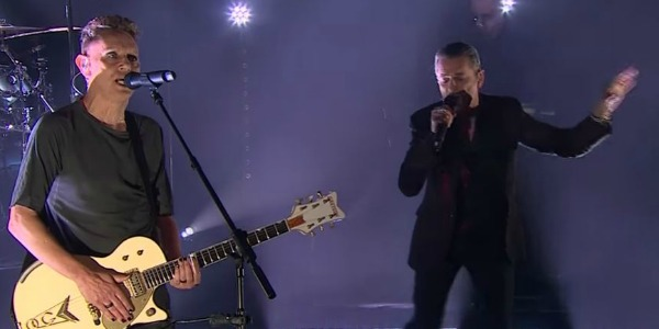Watch: Depeche Mode plays 'Where's the Revolution' on 'The Late Late Show'