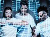 Poptone performs Tones on Tail, Love and Rockets and Bauhaus on debut album