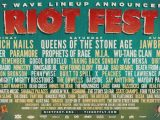 New Order, Nine Inch Nails, Jawbreaker, X, Ministry and more playing Chicago's Riot Fest